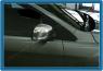 Накладки на зеркала (2 шт, нерж) - Ford Focus III (2011+)
