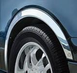 Накладки с нержавейки на колесные арки (4шт.) - Opel  CALIBRA (1990-1998)