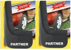 Брызговики (4 шт, резина) - Peugeot Partner (2004-2008)