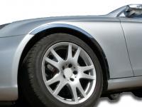 Накладки с нержавейки на колесные арки (4шт.) - Alfa Romeo 156 (97-05)