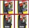 Комплект брызговиков (4 шт, резина) - Doblo II (2005+)