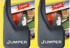 Брызговики с углублениями (2шт) - Citroen Jumper