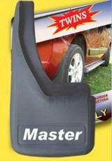 Брызговики с углублением (2 шт, резина) - Renault Master (2011+)