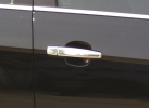 Накладки на ручки (4 шт., нерж.) - Chevrolet Trax (2012+)