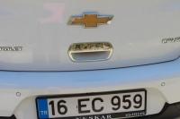 Накладка на ручку багажника (для версии HB, нерж.) - Chevrolet Cruze (2009+)