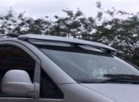 Козырек на лобовое стекло (под покраску) - Mercedes Vito W639