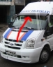 Козырек на лобовое стекло - Ford Transit (2003-2014)