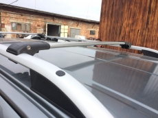 Перемычки на рейлинги под ключ (2 шт) - Peugeot Bipper (2008+)