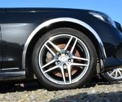 Накладки с нержавейки на колесные арки (4шт.) - Mercedes E-KLASS W212 (13-16) sedan