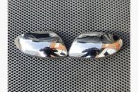 Накладки на зеркала (2 шт, нерж) - Renault Duster (2018+)