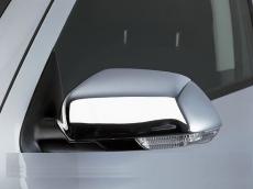 Накладки на зеркала (2 шт, нерж) - Skoda Octavia A5 (2004+)
