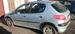Накладки колесных арок (4шт.пластик) - Peugeot 206 (1998-2012)