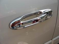 Накладки на ручки (8 шт, пласт.) - Toyota LС 100