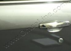 Накладки на ручки (4 шт, нерж.) - Renault Dokker (2013)