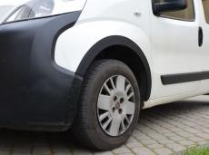 Накладки на арки (4 шт, пластик) - Peugeot Bipper (2008+)