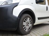 Накладки на арки (4 шт, пластик) - Fiat Fiorino/Qubo (2008+)