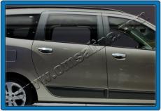 Накладки на ручки (4 шт., нерж.) - Renault Lodgy (2013+)
