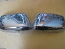 Накладки на зеркала (2 шт, пласт.) - Nissan Navara (2006+)
