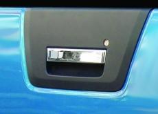 Накладка на ручку багажника (нерж) - Nissan Navara (2006+)