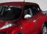 Накладки на зеркала  2010-2014 (2 шт, нерж.) - Nissan Juke