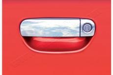 Накладки на ручки (4 шт., нерж.) - Audi A4 (2000-2004)