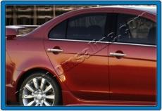Накладки на ручки (4 шт) - Mitsubishi Lancer X (2008+)