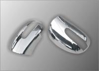 Накладки на зеркала (2 шт, нерж.) - Mercedes ML klass W164