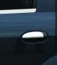 Накладки на ручки (4 шт, нерж.) - Renault Logan MCV(2008-2013)