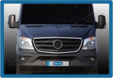 Обводка решетки 2013+ (нерж., только вокруг) - Mercedes Sprinter W906