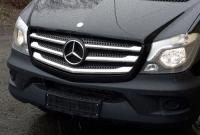 Накладки на решетку (модель 2013+, нерж.) - Mercedes Sprinter W906