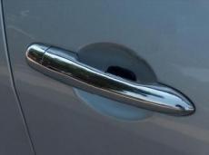 Накладки на ручки (4 шт, нерж) - Renault Megane II (2004-2010)