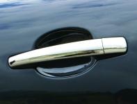 Накладки на ручки (4 шт, нерж) - Peugeot 5008 (2009+)