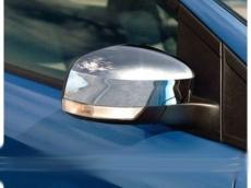 Накладки на зеркала (2 шт, пласт.) - Ford Mondeo (2008-2013)