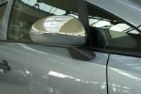 Накладки на зеркала (2 шт, нерж) - Opel Corsa D (2007+)