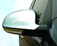 Накладки на зеркала (2 шт, нерж) - Volkswagen Golf 5+ Plus