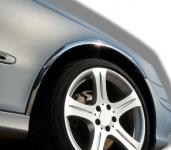 Накладки с нержавейки на колесные арки (4шт.) - Mercedes E-KLASS W211