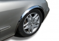 Накладки с нержавейки на колесные арки (4шт.) - Mercedes ML KLASS W164