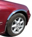 Накладки с нержавейки на колесные арки (4шт.) - Mercedes C-KLASS W205 Универсал