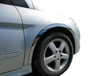 Накладки с нержавейки на колесные арки (4шт.) - Mercedes B-KLASS W245 (2005-2011)