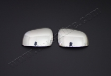 Накладки на зеркала (2 шт, нерж) - Renault Kangoo (2013+)