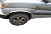 Накладки с нержавейки на колесные арки (4шт.) - Mercedes ML KLASS W166