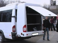 Навесной багажник - Mercedes Sprinter (1995-2006)