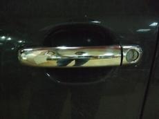 Накладки на ручки (4 шт., нерж.) - Audi Q7 (2005+)