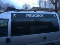Рейлинги черные (пласт. крепл.) - Peugeot Expert (1996-2007)