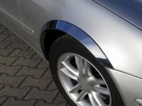Накладки с нержавейки на колесные арки (4шт.) - Renault KANGOO (2008-2013)