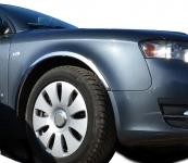 Накладки с нержавейки на колесные арки (4шт.) - Saab 9-3 (1998-2002)