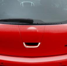 Накладка на заднюю ручку (нерж.) - Opel Astra J (2010+)