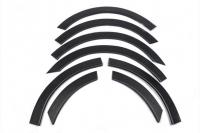 Накладки колесных арок (к-т.,пластик) - Renault Megane III (2008-2012) SW