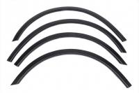 Накладки колесных арок (4шт.пластик) - Skoda Superb (2001-2009)