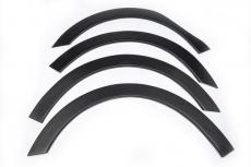 Накладки колесных арок (4шт.пластик) - Renault Kangoo (2008-2012)
